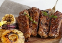 Grilled Pork Ribs with Pineapple